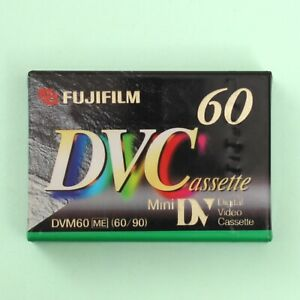 FUJIFILM Mini DV MiniDV Digital Cassette Tape DVM60 60 Minute *NEW & SEALED*