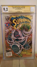 Superman: The Man of Steel #18 CGC 9.2 AUTOGRAPHED by LOUISE SIMONSON