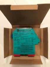 Pepperl + Fuchs KCD2-SR-EX1.LB  Switch Amplifier intrinsically safe barrier