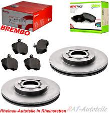 Bremsscheiben Brembo KIT Vorn 256mm-VA-VW POLO 6N1 100 1.4 16V POLO CLASSIC 6KV2