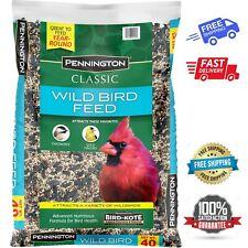 New Wild Bird Food Seed Mix Birder's Blend Bulk 40lb Bag Feed Classic