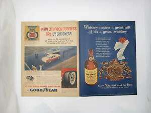 New York Life Insurance Co, Goodyear 3T Nylon Tubeless Tire Print Ad (C4)
