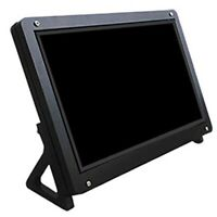 7 Inch Display Monitor LCD Case Support Holder for Raspberry Pi 3 Acrylic H D1E4