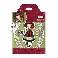 Gorjuss Dear Apple Doll Stamp Set by Santoro London