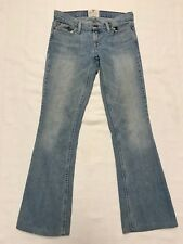 American Eagle Outfitters Hipster Denim Blue Jeans Boot Cut Womens Size 2