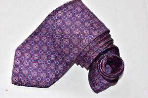 Men's Stefano Ricci Blue  100% Silk  Neck Tie made in Italy