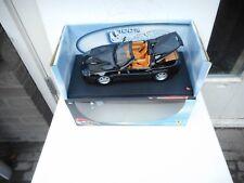 FERRARI 550 BARCHETTA PININFARINA BLACK 1:18 MODEL CAR BY HOTWHEELS M BOX