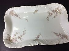 "BEAUTIFUL ANTIQUE R S GERMANY 14"" SERVING PLATTER"