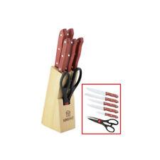 Küchenmesser Set 7-tlg. Kochmesser Brotmesser Ausbeinmesser Allzweckmesser