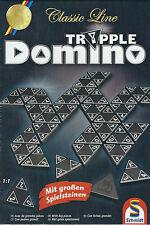 Tripple Domino  Classic Line - Schmidt Spiele-mit großen Spielsteinen/ Neu & OVP