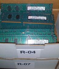 4x Hynix HMT112R7BFR8C-G7-TB-AB-C 1GB PC3-8500R 1066MHZ ECC (Server) Ram  ###