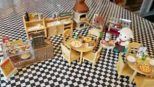 Calico Critters Italian Restaurant with 91 Pieces