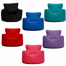 Small Childrens Bean Bag Chairs 100% Cotton 7 Great Colours FREE UK P&P