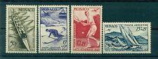 Monaco 1948 - Y & T  n. 32/35 poste aérienne  - Jeux olympiques de Londres