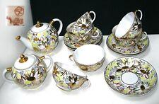Collectible Tea Set LOMONOSOV LFZ Porcelain Factory Soviet Union Russia USSR
