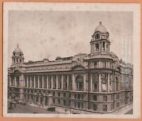 The Old War Office Building Army Military  London England 1920s Ad Trade Card