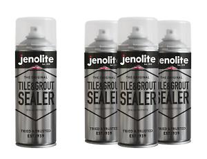 JENOLITE Tile & Grout Sealer Aerosol – 400ml (Stops Grease, Mould & Limescale)
