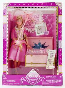 Disney Princess Royal Travels Aurora Sleeping Beauty Doll with Trunk/Vanity NRFB