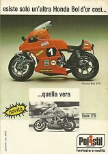 X9330 POLISTIL - Honda Bol d'Or - Pubblicità 1976 - Advertising