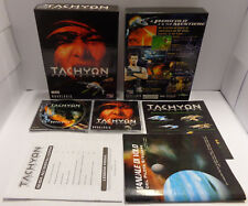 PC Computer Game Gioco Big Box CD-ROM ITALIANO Play ITA - TACHYON The Fringe -