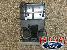 05 06 07 Super Duty F250 F350 F450 F550 OEM Ford Dash Cup Holder MED PEBBLE TAN