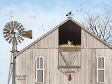 Billy Jacobs Winds Aloft Barn Chicken Art Print 16 x 12
