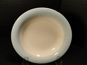 Homer Laughlin Eggshell Swing Organdy Blue Soup Bowl RARE