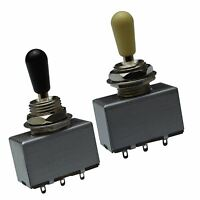 3 Way Box Toggle Switch for Gibson, Les Paul, Sg, Epiphone etc..