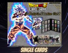 Dragon Ball Super TCG Premium Collector's Single Cards Presale Release 30/06/20