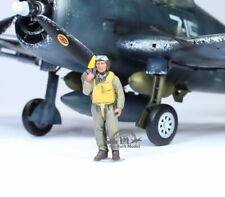 US Navy Pilot WW2 1:48 Pro Built Model #1