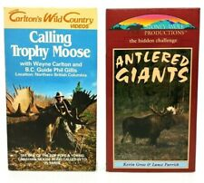 Moose Hunting Videos on Vhs - Vintage Hunting Tapes
