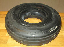 "24"" Bridgestone Airplane Tire and Tube- Retread- Marked ""Rejected"""