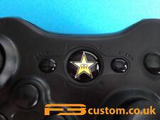 Custom XBOX 360 * RockStar logo * Guide button