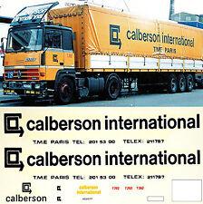 renault CALBERSON INTERNATIONAL FRANCE F 1:87 CAMION autocollant décalcomanie