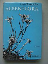 Alpenflora wichtigeren Alpenpflanzen Bayerns Österreich Schweiz 1969