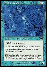 1x FOIL Mistform Wall Onslaught MtG Magic 1 x1 Blue Common Card Cards