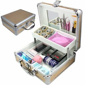 Pro False Eye Lashes Eyelash Extension Glue Removal Kit Tools Set With Lock Case