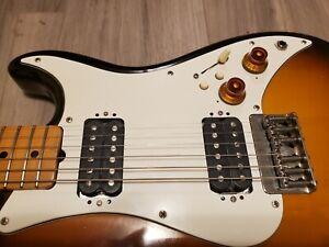 Fender Squier  Bullet One 2 HUmbucker 1984 MIJ w/UPGRADES TELEcaster neck a+
