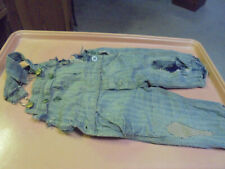 Vintage Child's Key Coveralls Overalls Well worn and patched