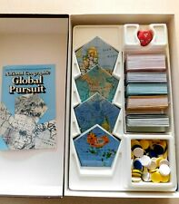 1987 Vintage National Geographic Global Pursuit Trivia Game Complete