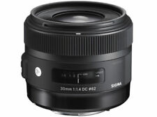 Sigma DC 30mm Lenses for Canon Cameras