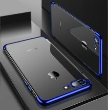 New Shockproof Crystal Clear Tpu Electroplating Case Cover for iPhone XS Max XR