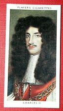 KING CHARLES 11    Vintage Small Portrait Card