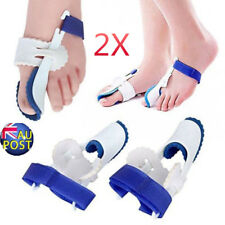2x Straightener Bunion Hallux Valgus Corrector Toe Pain Relief Night Splint MN