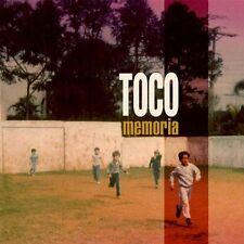 MEMORIA [Digipak] * BY TOCO (CD, May-2014, Schema (USA))