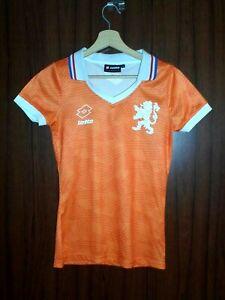 HOLLAND Football Shirt Jersey LOTTO size S Woman Tricot Camiseta NETHERLAND