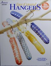 """Lace-Covered Hangers"" Pattern Leaflet~4 Easy Designs for Size 10 Crochet Cotton"