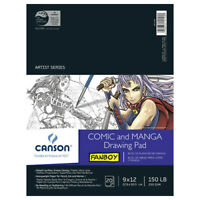CANSON / PACON PAPERS 100510882 MANGA DRAWING HEAVYWEIGHT 150LB 20 SHEETS 9X12