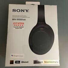 Sony wh-1000xm3 negro Black Wireless BT + NFC auriculares Headset nuevo precintado