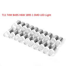 20x White T11 T4W BA9S H6W 1895 1 SMD LED 12V Turn Signal Dashboard Light Lamps